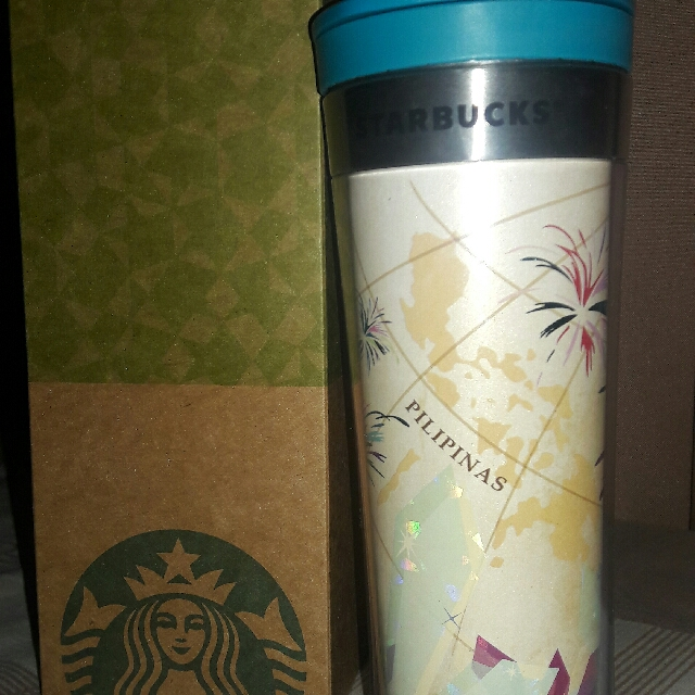 Starbucks Thumbler Pilipinas Edition
