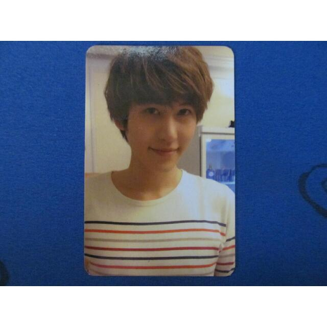 SUPER JUNIOR 'SEXY,FREE&SINGLE' PHOTOCARD (KYUHYUN)