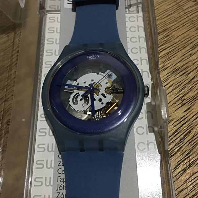 Authentic Swatch NEW GENT LACQUERED SUON102