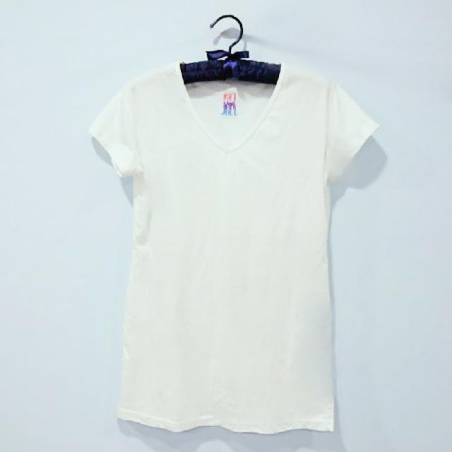 超舒服100%純棉台灣製造白T