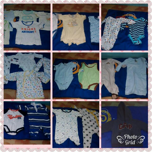 Take 26 Pcs.  Baby Boy Overall And Shirt
