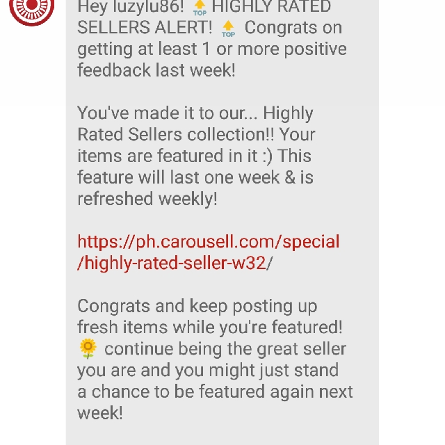 Thank You CAROUSELL! 😘😘😘