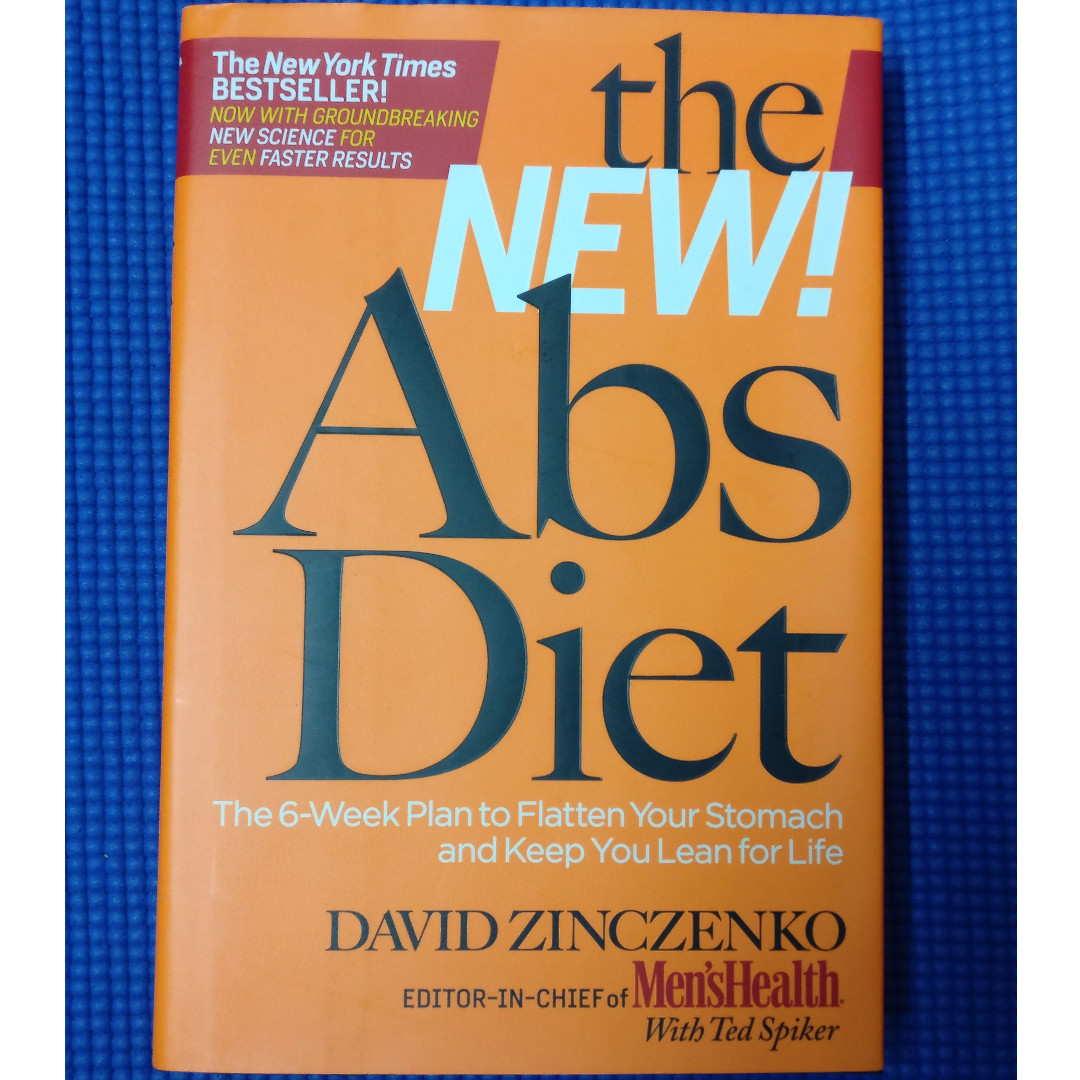 the new abs diet the 6 week plan to flatten your stomach and keep you lean for life