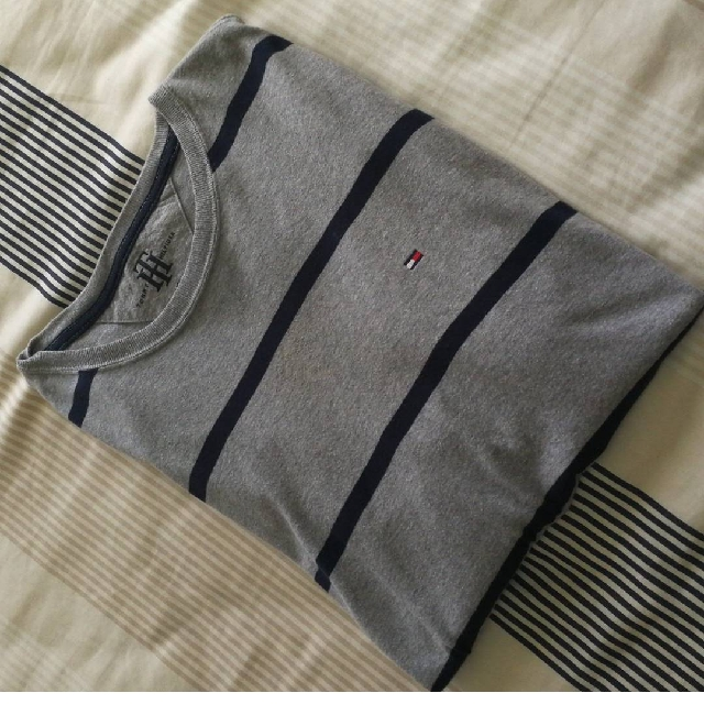 Tommy Hilfiger Oversize Grey T