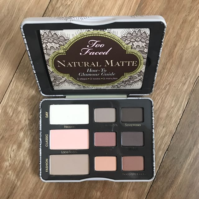 Toofaced Natural Matte Palette