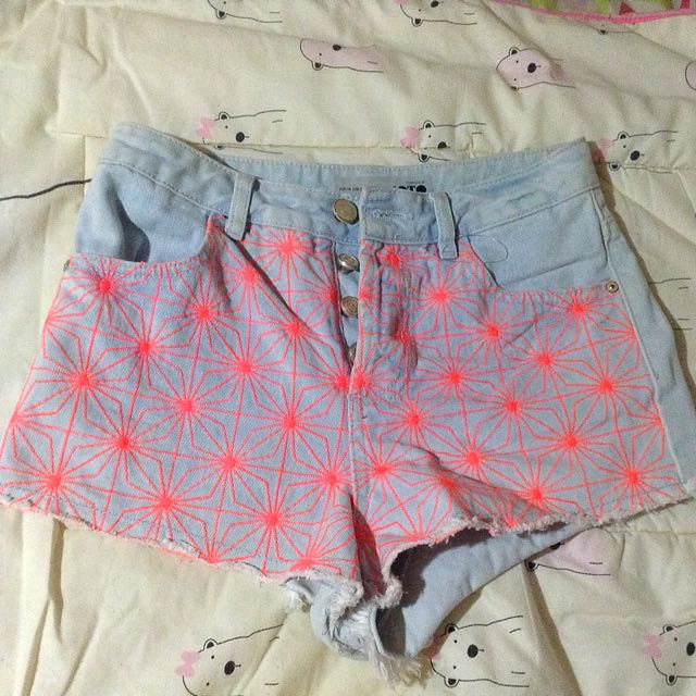 Topshop Highwaisted Shorts