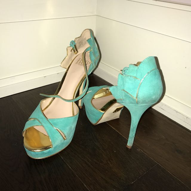 Turquoise Heels By Madonna