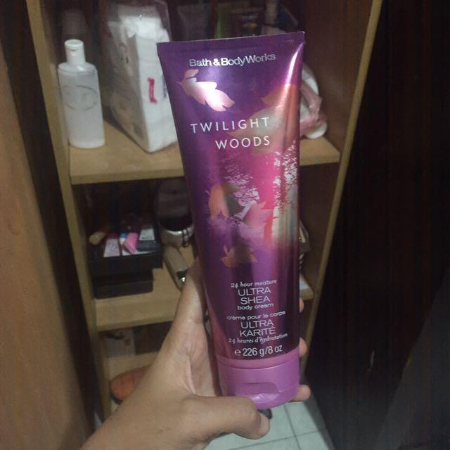 twilight woods body cream