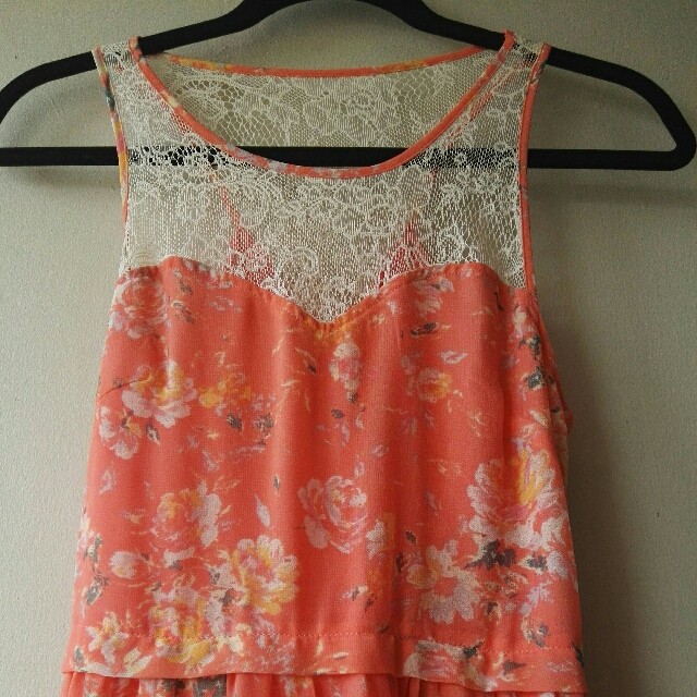 USED Flower Dress (Longtail)