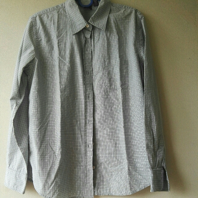 USED GAP Longsleeves Button Up