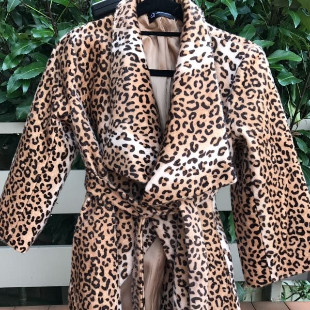 Vintage Inspired Leopard Jacket