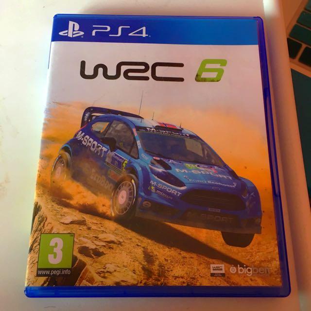 WRC 6 PS4 Racing Game