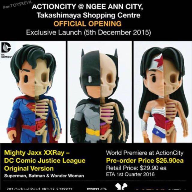WTS Mighty Jaxx - XXray DC Comic Original And Mono Version