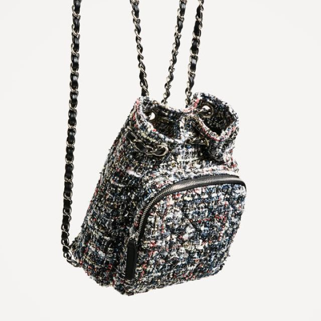 2a6158bf89 Zara Mini Quilted Backpack