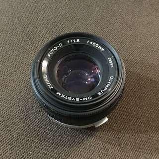 Olympus OM lens 50mm 1.8