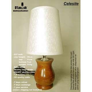 Celesite, Table Lamp, Lampu Meja, Lampu Hias