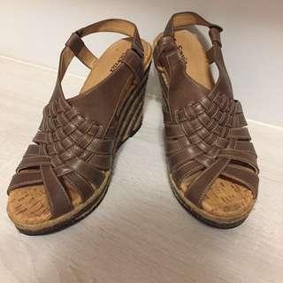 Sonia羅馬楔型涼鞋37號