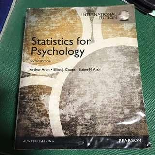Statistics For Psychology (Aron Et Al 6th Ed)