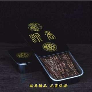沉香 菸絲 抽煙片 越南芽莊 沉香菸絲 沉香絲 煙插 煙針 沉香片 木條 送銅針