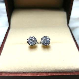 日本閃亮水晶防敏感耳環 Brand New Japan Shiny Crystal Sensitive Earrings