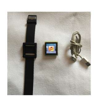 GOLD Apple iPod Nano 6th Generation
