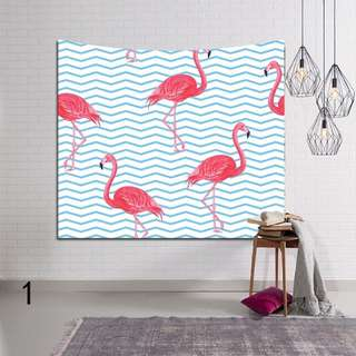 Flamingo Series Tapestry/ Wall Hanging Home Decor/ Bed Cover