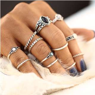 Icelandic Ring Set 12pc