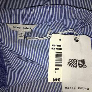 BNWT BLUE AND WHITE TOP