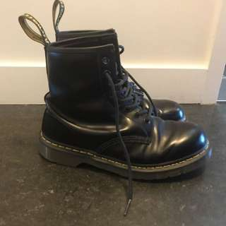 All Black (Matte) Authentic Doc Martens!