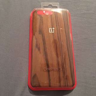 Brand New ONE PLUS 5 rose Wood Case