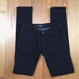 Rock & Republic R&R Black Skinny Jeans Size 26