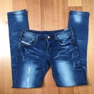 Diesel Men's Jeans Darron Slim Jeans Size 30