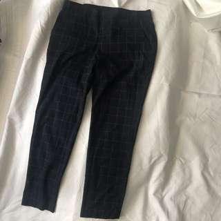 Uniqlo Check Trousers