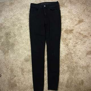 American Eagle High waisted Black Jeans
