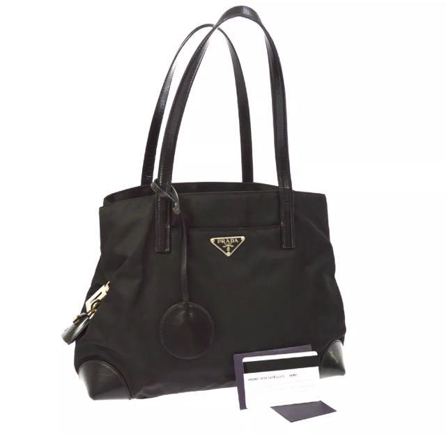 100% Authentic Black Prada Bag