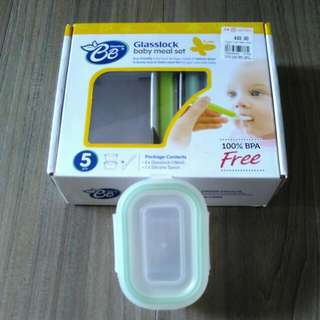 🚚 Glasslock Baby Meal Set, Brand New, , #CarouPay