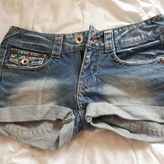 PRICE REDUCED!!! Low Rise Denim Shorts