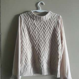 Long Sleeves Knitted Top