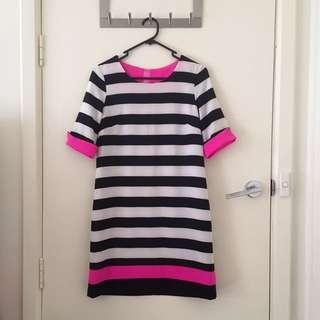 Karen Striped Dress