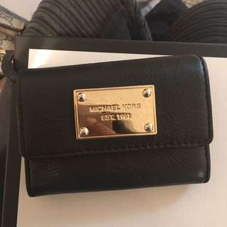 Black And Gold Micheal Kors Wallet