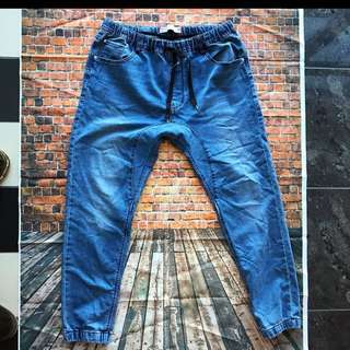Blue Mens Chinos Size 34-36