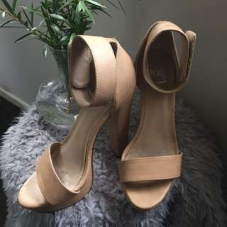 Nude Pulp High Heels