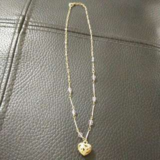玫瑰金項鍊