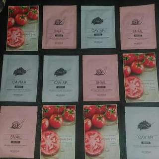 5 Pcs. Sheet Masks