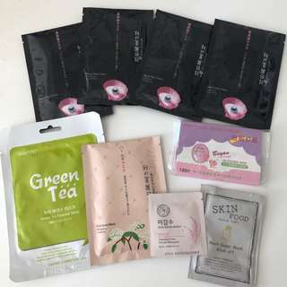 assorted skin care set