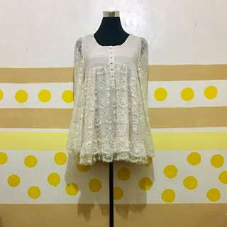 Laced Vintage Dress