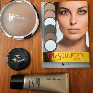 Bareminerals, it cosmetics And Too Faced