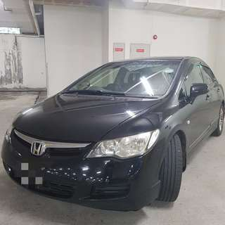 Available For Rent Now. Civic 1.6auto