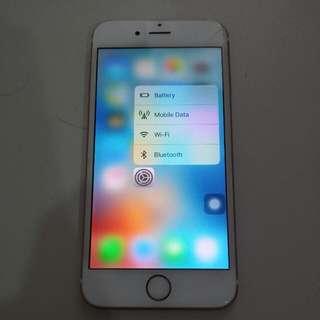 Iphone 6S Rose Gold Myset 16GB