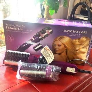 Reduced 💰INSTYLER Brand New ROTATING Hot Air Volumizer Brush Straightner Curls Styles